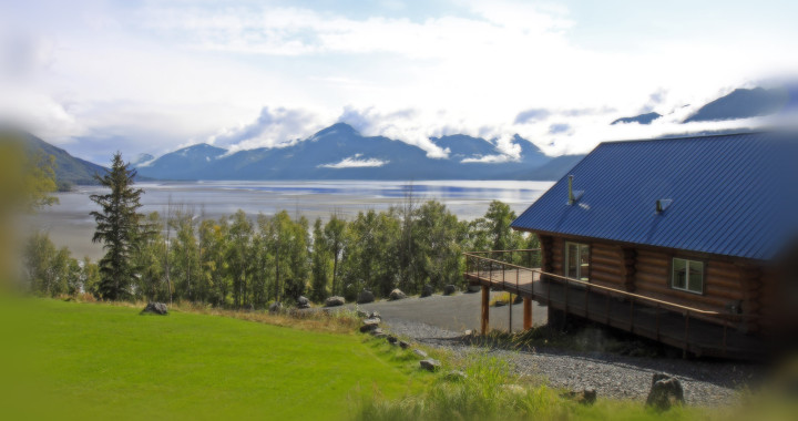 Turnagain View BnB is 30 minutes from Anchorage, Alaska